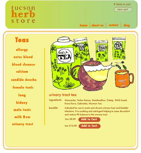 THS website - teas